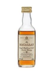 Macallan 18 Years Old USA Release Miniature