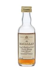 Macallan 12 Years Old Miniature 43%