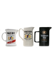 Paddy & Tullamore Dew Water Jugs Large
