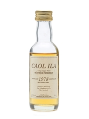 Caol Ila 1978 Bottled 1991 Miniature