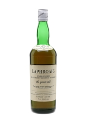 Laphroaig 10 Year Old Bottled 1970s-1980s 75cl / 43%