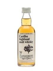 Cardhu 8 Years Old Bottled 1970s Miniature
