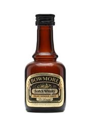 Bowmore De Luxe Bottled 1970s Miniature