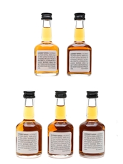 Bourbon Heritage Collection George Dickel, IW Harper, Old Charter, Old Fitzgerald, WL Weller 5 x 5cl