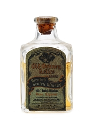 Old Orkney Relics Bottled 1930s USA Release Miniature