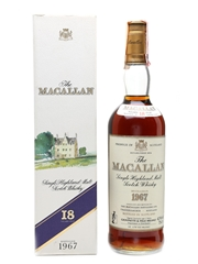 Macallan 1967 18 Year Old - Giovinetti 75cl / 43%
