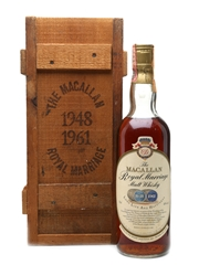 Macallan Royal Marriage 1948 & 1961 75cl / 43%