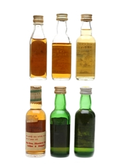 Assorted Blended & Malt Scotch Whisky Bottled 1960s-1980s - Old Aberdeen, Old Orkney, Prestonfield, Berry Bros, Strathayr 6 x 4cl-5cl