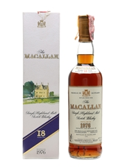 Macallan 1976 18 Year Old - Giovinetti 70cl / 43%