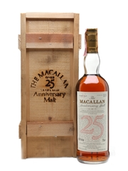 Macallan 1964 25 Year Old  Anniversary Malt Bottled 1989 - Giovinetti 75cl / 43%
