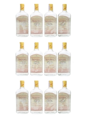 Gordon's Dry Gin Bottled 1970s - Spain 12 x 100cl / 43%