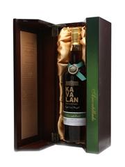 Kavalan Solist Amontillado Cask Distilled 2010 75cl / 56.3%