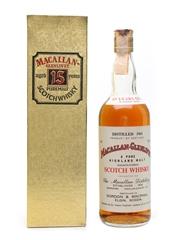 Macallan Glenlivet 1961 Gordon & MacPhail