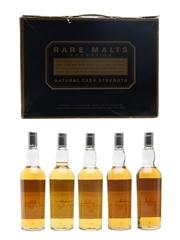 Rare Malts Selection Set Brora, Caol Ila, Dailuaine, Glendullan & Teaninich 5 x 20cl