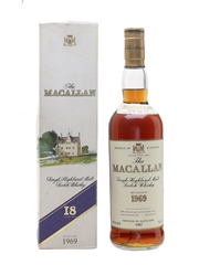 Macallan 1969 18 Year Old 75cl / 43%