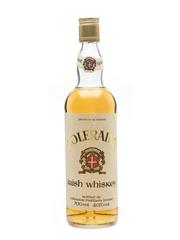 Coleraine Irish Whiskey Bottled 1990s - Coleraine Distillery Limited 70cl / 40%