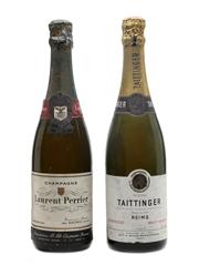 Laurent Perrier & Taittinger Non Vintage
