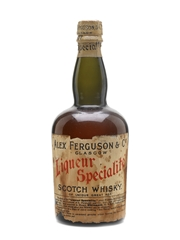 Alex Ferguson & Co Liqueur Specialite Scotch Whisky