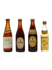 4 x Assorted Beer Miniatures