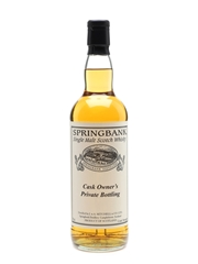 Springbank 1993 Cask #546 Cask Owner's Private Bottling 70cl / 49.7%