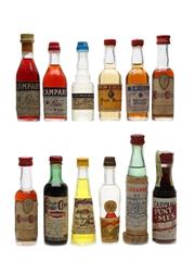 Assorted Italian Spirits & Liqueurs
