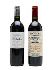 Chateau Martinens  2003 & Fortnum & Mason St.Emilion 2001