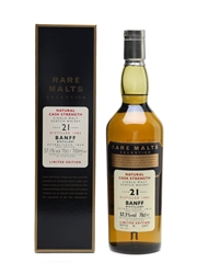 Banff 1982 21 Year Old Bottled 2004 - Rare Malts Selection 70cl / 57.1%
