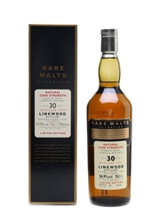 Linkwood 1974 30 Year Old Bottled 2005 - Rare Malts Selection 70cl / 54.9%