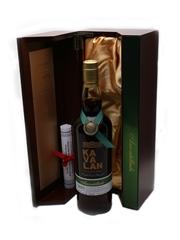 Kavalan Solist Amontillado Cask Distilled 2010, Bottled 2016 70cl / 55.6%