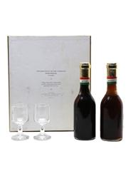 Tokaji 1966 Aszu & Szamorodni Glasses Set 2 x 25cl