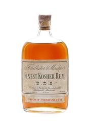 Findlater & Mackie's Finest Kosher Rum