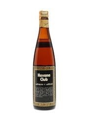 Havana Club 7 Years Old Bottled 1970s 75cl