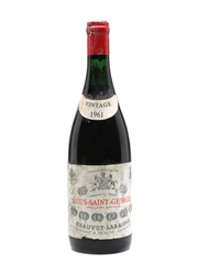 Nuits St Georges 1961
