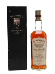 Bowmore 1969 25 Year Old