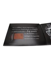 Glenfiddich 1937 64 Year Old - PR Presentation Miniature Pack 0.1cl / 44%
