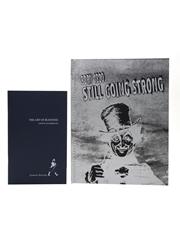 Johnnie Walker Books Born 1820 Still Going Strong, The Art Of Blending, Alfred Dunhill