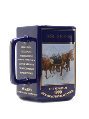 Seagram Grand National Water Jug 1990 Mr Frisk 14.5cm x 15cm x 8cm