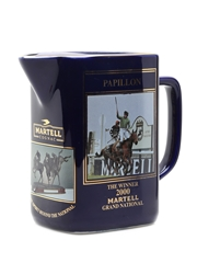 Martell Grand National Water Jug 2000 Papillon 15cm x 17cm x 8cm