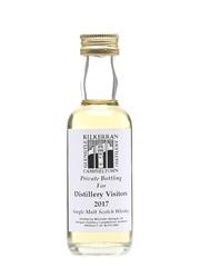 Kilkerran Distillery Visitors 2017