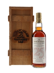 Macallan 1958 25 Year Old Anniversary Malt