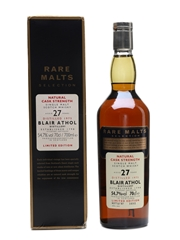 Blair Athol 1975 27 Year Old Bottled 2003 - Rare Malts Selection 70cl / 54.7%