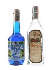 Bols Blue Curacao & Sutterer Kirschwasser