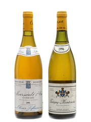 Puligny Montrachet 1996 & Meursault Poruzots 1995