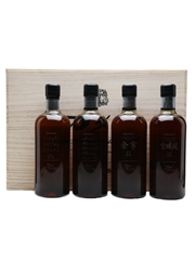 Nikka 70th Anniversary Set Limited Edition 2004 4 x 70cl