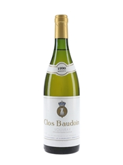 Clos Baudoin Vouvray Moelleux 1990