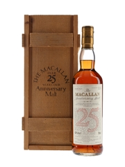 Macallan 1968 25 Year Old Anniversary Malt