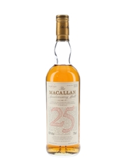 Macallan 1965 25 Year Old Anniversary Malt Bottled 1990 75cl / 43%