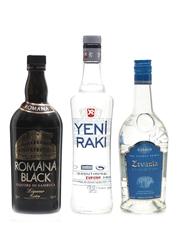 Assorted Sambuca & Anise Liqueurs