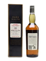 Port Ellen 1978 22 Year Old Bottled 2000 - Rare Malts Selection 70cl / 60.5%