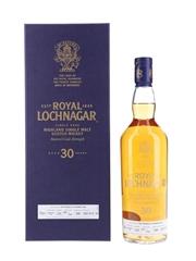 Royal Lochnagar 1988 30 Year Old - Bottle Number 007